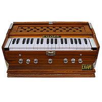 Ekam Musical -7Stopper Harmonium- Yellow Teak -For Fema