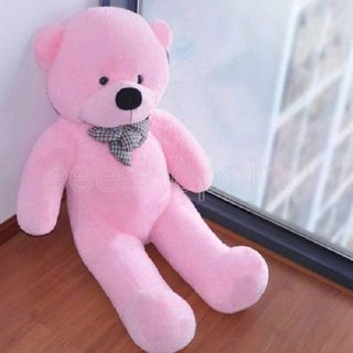 Stuffed Toy 3 Feet Soft And Cute Teddy Bear Pink