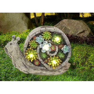 Wonderland Snail Solar Light / Solar Lights for outdoor garden decor balcony decoration  home decor gift