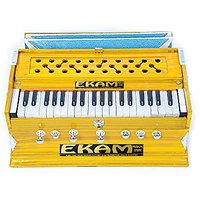 Ekam Musical Yellow 7Stopper Bass Mail Harmonium 39 Key