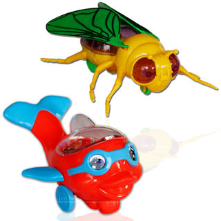 Toys bee and fish set
