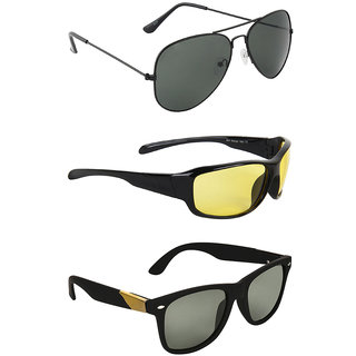 4716777a02 Buy Zyaden Combo of Three Sunglasses- Pack of 3 Online - Get 81% Off