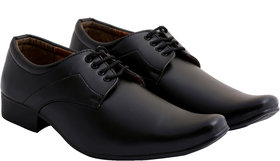 Stylos Men's Black 1151 Formal Shoes