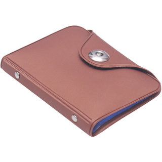 02660b2ed879d RK Brown PU Card Holder Wallet For Men (12 Card Slots) (Synthetic  leather Rexine)