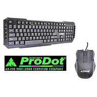 Prodot Trendy Wired KEYBOARD  MOUSE COMBO (SRC-107-253