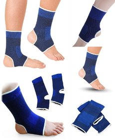 Elastic Ankle Support (Pair) Protection for Healing/Sports