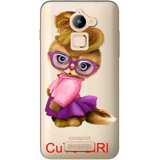 Snooky Printed Cute Girl Mobile Back Cover of Coolpad Note 3 Lite - Multicolour