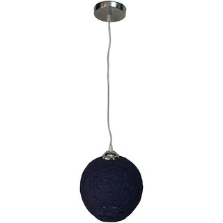 Bene Round Hand Made Hanging Light (Blue 9w)