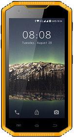 Kenxinda W8 4G LTE Smartphone IP68 Underwater Dustproof Shockproof 5.5 Inch HD IPS Screen (Yellow) Android 5.1