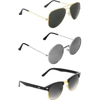 95f61f818b Buy Zyaden Combo of Three Sunglasses- Pack of 3 Online - Get 79% Off