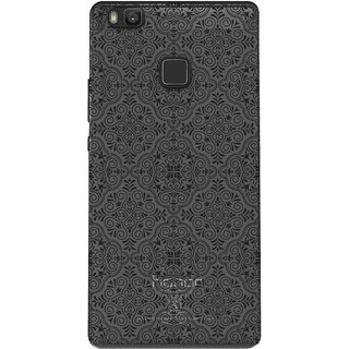new concept 73b32 04e55 Snooky Printed Black Pattern Mobile Back Cover of Huawei Honor 8 Smart -  Multicolour