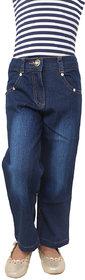 Kavya Kids Girls Blue Jeans