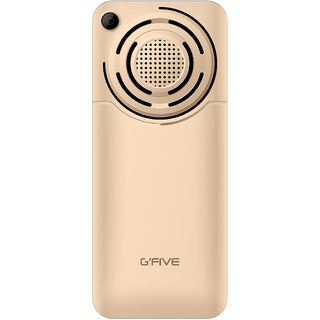 GFIVE WP89 (Dual Sim 2.4 Inch Display 2200 Mah Battery Multimedia Phone Champagne gold)
