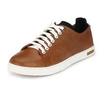 Alberto Torresi Men's Tan,White Loafers