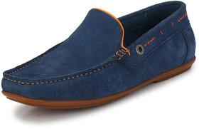 Alberto Torresi Men's Blue Loafers