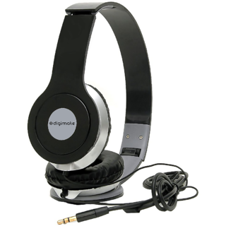 Digimate HD Stereo Dynamic Wired Headphones - Multi Color