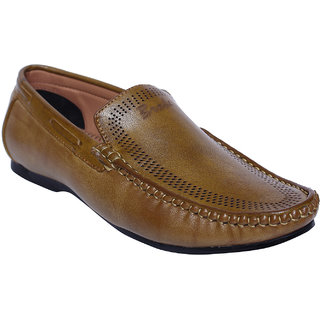 3186b6862c261 DESI JUTA Synthetic Tan Men Loafers