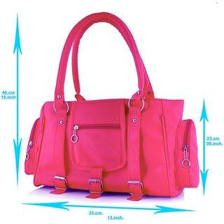 92c8efa3dc7b Chhavi Women Casual Pink Handbag (SN 66)