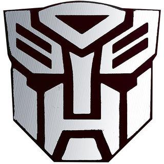 buy 3d car sticker metallic autobot transformer emblem logo bike