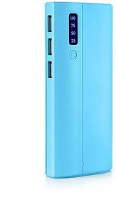 Hamine percentage indicator P3 Model 10000 Mah Power Bank (blue)