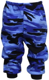 Tumble Blue Camouage Baby Track Pant (0-6 Months)