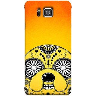 FUSON Designer Back Case Cover for Samsung Galaxy Alpha :: Samsung Galaxy Alpha S801 ::  Samsung Galaxy Alpha G850F G850T G850M G850Fq G850Y G850A G850W G8508S :: Samsung Galaxy Alfa (Top Dog Breeds For Stress Relief Dog Lover Gifts)