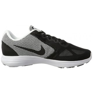 Nike Revolution 3 MenS Black Running Shoes