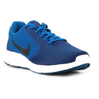 timeless design 6c124 3e660 Nike Revolution 3 Men'S Blue Running Shoes