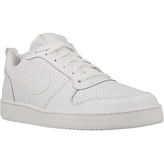 67e1d820f090 Buy Nike Court Borough Low Men S White Sneakers Online   ₹3866 from ...
