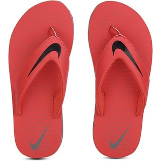 2f5ea115f0c8 Buy Nike Chroma Thong Men S Red Slippers Online - Get 21% Off
