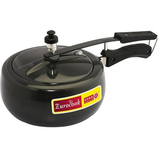 Usha Shriram Hard Anodized Pressure Cooker 3.5 L Pressure Cooker (Hard Anodized)