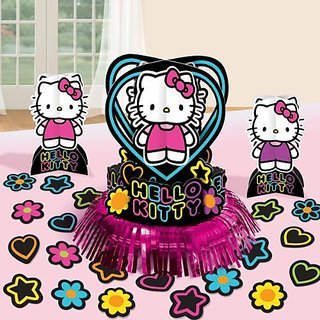 Hello Kitty Tween Table Decorating Kit Centerpiece Birthday Party