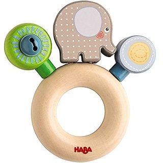 HABA Elephant Clutching Egon Toy