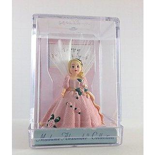 """Madame Alexander Collection Merry Miniatures """"Pink Pristine Angel - 1997"""" by Hallmark"""