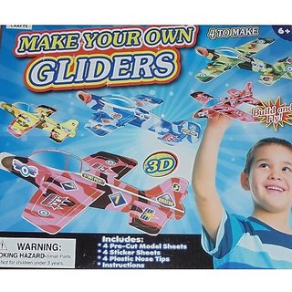 Make your own gliders - creates 4 plane gliders