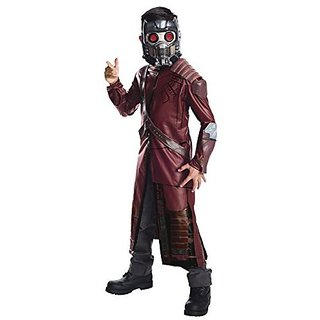 Rubies Guardians of The Galaxy Deluxe Star-Lord Costume, Child Large