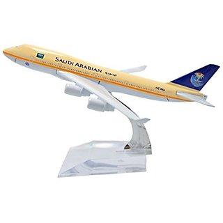 1:400 16cm Boeing B-747 Saudi Arabian Airlines Metal Airplane Model Plane Toy Plane Model