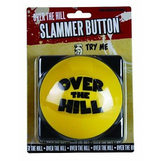 Big Mouth Toys Over The Hill Slammer Button