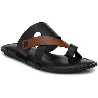 Boggy Confort Black Slip On Sandal