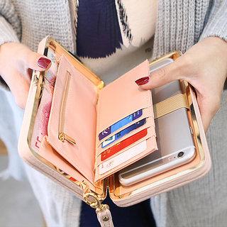new styles 38858 212ac Universal Women Phone Wallet Case Purse