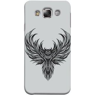 FUSON Designer Back Case Cover for Samsung Galaxy E5 (2015)  :: Samsung Galaxy E5 Duos :: Samsung Galaxy E5 E500F E500H E500Hq E500M E500F/Ds E500H/Ds E500M/Ds  (Jungle Ka Night Rider Pencil Pen Sketch Best Wallpaper)