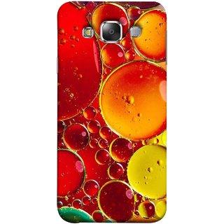 FUSON Designer Back Case Cover for Samsung Galaxy E5 (2015)  :: Samsung Galaxy E5 Duos :: Samsung Galaxy E5 E500F E500H E500Hq E500M E500F/Ds E500H/Ds E500M/Ds  (Watercolor Colorful Holiday Sketch Oil Painting )