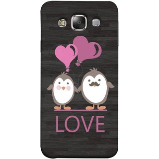 FUSON Designer Back Case Cover for Samsung Galaxy E5 (2015)  :: Samsung Galaxy E5 Duos :: Samsung Galaxy E5 E500F E500H E500Hq E500M E500F/Ds E500H/Ds E500M/Ds  (Feeling Loved With Each Other Valentine Day)