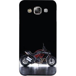 FUSON Designer Back Case Cover for Samsung Galaxy E5 (2015)  :: Samsung Galaxy E5 Duos :: Samsung Galaxy E5 E500F E500H E500Hq E500M E500F/Ds E500H/Ds E500M/Ds  (Tour Bike Gear Patrol Yamaha Motorbikes And Super Bikes)