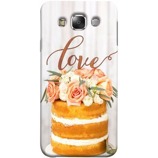 FUSON Designer Back Case Cover for Samsung Galaxy E5 (2015)  :: Samsung Galaxy E5 Duos :: Samsung Galaxy E5 E500F E500H E500Hq E500M E500F/Ds E500H/Ds E500M/Ds  (Comes True Love You Forever Valentine Couples Lovers)