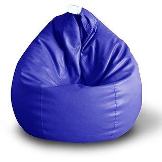 Madaar Homez bean bag only cover size xxxl Royal Blue