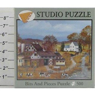 Heartland Mary Ann Vessey 500 Piece Puzzle