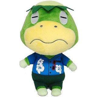 """Sanei Animal Crossing New Leaf Doll Kappn/Kappei 8.5"""" Plush"""