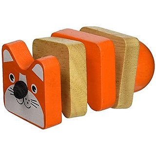 Manhattan Toy Click-Clack Cat Wooden Clutching Toy