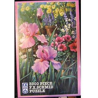 Garden Fantasy: 3000 Piece F.X. Schmid Puzzle